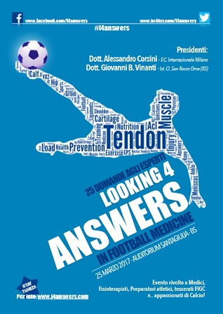 25 DOMANDE AGLI ESPERTI Looking 4 answers in Football Medicine